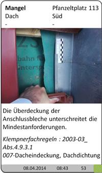 Baugutachter Olaf Printz München - Dacheindeckung
